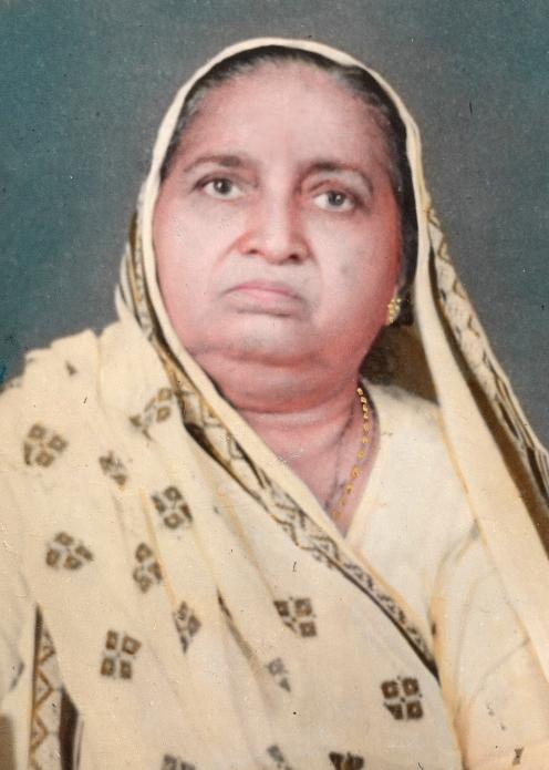 Diwaliben Vithaldas Thakrar